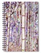 Bamboo Texture Spiral Notebook