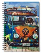 Bamf-vw Microbus Spiral Notebook