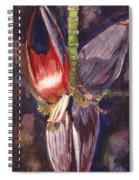Banana Bloom Spiral Notebook