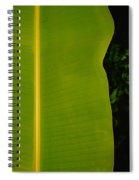 Banana Leaf Spiral Notebook