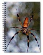 Banana Spider 2 Spiral Notebook