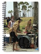 Band Playing 2 Spiral Notebook