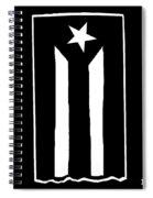 Bandera Puerto Rico En Resistencia Spiral Notebook