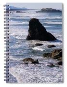 Bandon Beach 2 Spiral Notebook