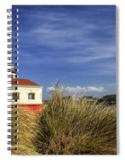 Bandon Coquille River Lighthouse Spiral Notebook