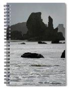 Bandon Silouettes Spiral Notebook