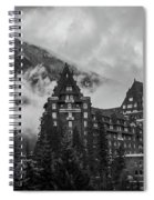 Banff Fairmont Springs Hotel Spiral Notebook
