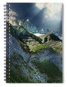 Mount Cory, Banff Spiral Notebook