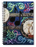 Banjos Spiral Notebook