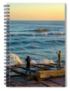 Bank Fishing Spiral Notebook