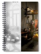 Banker - Worth Its Weight In Gold 1917 Side By Side Spiral Notebook
