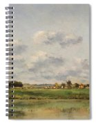 Banks Of The Loing Spiral Notebook