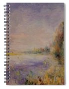 Banks Of The River 1876 Spiral Notebook