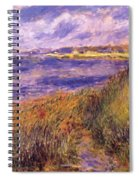 Banks Of The Seine At Champrosay Spiral Notebook