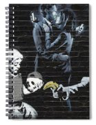 Banksy - Failure To Communicate Spiral Notebook