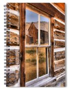 Bannack Reflection In The Past Spiral Notebook