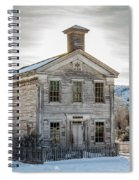 Bannack Schoolhouse And Masonic Temple Spiral Notebook