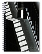 Bannister And Shadows Spiral Notebook