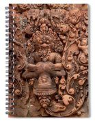 Banteay Srei Bas Relief Carvings - Cambodia Spiral Notebook