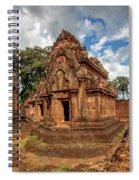 Banteay Srei Mandapa Sanctuary - Cambodia Spiral Notebook