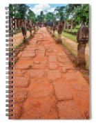 Banteay Srei Red Sandstone Road - Cambodia Spiral Notebook
