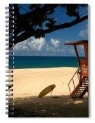 Banzai Beach Spiral Notebook