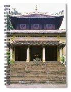 Bao Tang Temple Ho Chi Minh City Spiral Notebook
