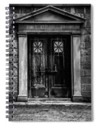 Bar Across The Door Spiral Notebook
