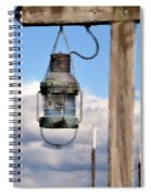Bar Harbor Lantern Spiral Notebook