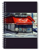 Bar Les 3 Quartiers Spiral Notebook