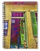 Bar Scene French Quarter New Orleans Spiral Notebook