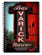 Bar Varick Nascar Spiral Notebook