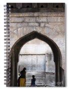 Baramotachi Vihir Historic 12 Channel Flow Well Spiral Notebook