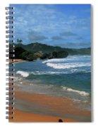 Barbados Berach Spiral Notebook