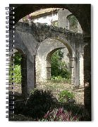 Barbados Ruins Spiral Notebook