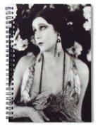 Barbara La Marr Spiral Notebook