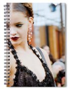 Barbara Palvin Spiral Notebook