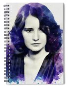 Barbara Stanwyck, Vintage Actress Spiral Notebook