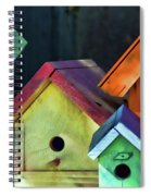 Barbara's Birdhouses Spiral Notebook