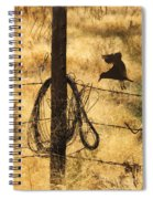 Barbed Landing Spiral Notebook