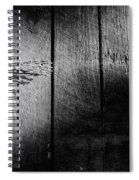 Barbed Wire Cross Spiral Notebook