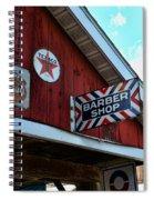 Barber - Old Barber Shop Sign Spiral Notebook