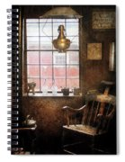 Barber - Remembering The Old Days Spiral Notebook