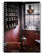 Barber - The Country Barber  Spiral Notebook