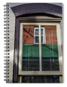 Barber Pole Spiral Notebook