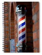 Barber Pole Spiral Notebook