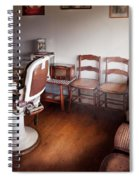 Barber - Ready For An Audience Spiral Notebook