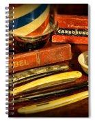 Barber - Vintage Barber Spiral Notebook