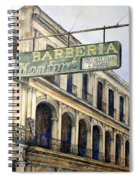 Barberia Konfort Spiral Notebook