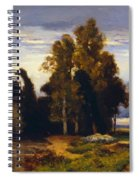 Barbizon Landscape Spiral Notebook